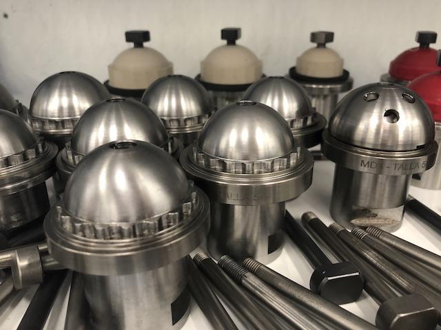 Asesoramiento en el mecanizado de implantes y útiles de fabricación